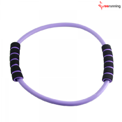 8 And O shaped with Tube Fitness Resistance Bands Set