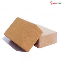 Non- Toxic Fitness Cork Yoga Block For Exercise