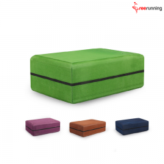 Bi-Color Exercise Custom Yoga Block
