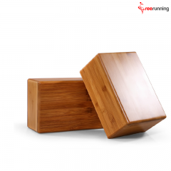 Gym Exercise Bamboo Yoga Block