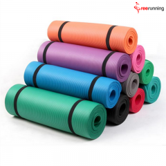 Factory Price NBR Yoga Mat With Strap