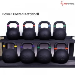 Power Coated Kettlebell Weights Exercises