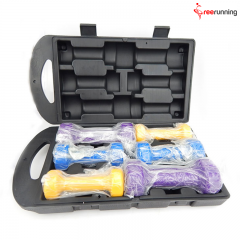 10KG Pro Fitness Vinyl Dumbbell Set
