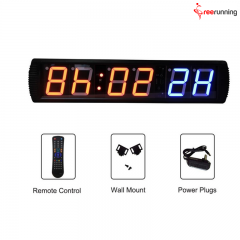 Crossfit Boxing Six Digital Timer Wall Mount