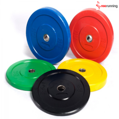 Color Rubber Bumper Plates Crossfit