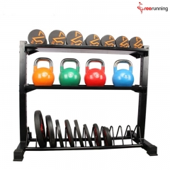 Functional Fitness Equipment Crossfit For Dumbbell & Kettlebell & Bumper Plates